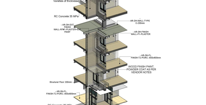 Sections BIM